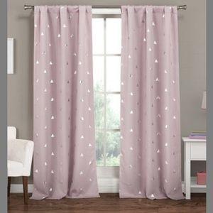 Lavender Blackout Curtain Panel